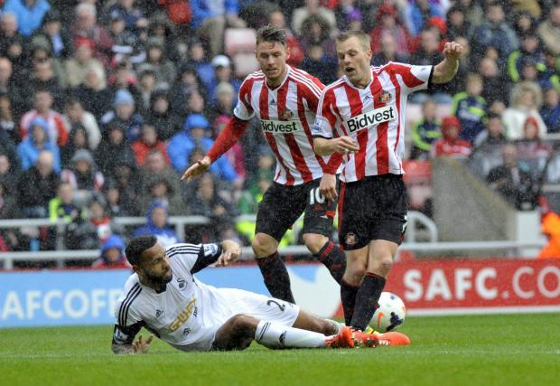 The Advertiser Series: Contract talks: Connor Wickham, behind, must sign a new Sunderland deal soon says Gus Poyet