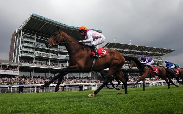 The Advertiser Series: Libertarian and William Buick win last year's Betfred Dante Stakes at York Racecourse