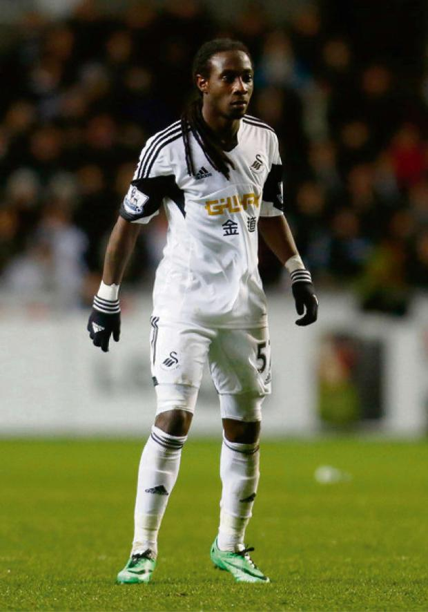 The Advertiser Series: SUCCESSFUL SPELL: Marvin Emnes would like to remain at Swansea after impressing for the Premier League club in the second half of the season
