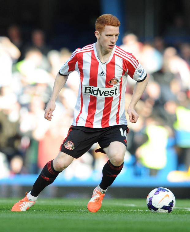 The Advertiser Series: WEARSIDE RAISED: Jack Colback, pictured in Sunderland colours prior to his move to Newcastle United