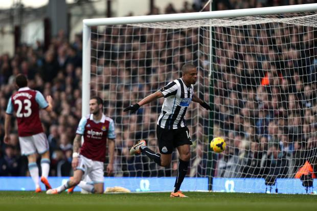 The Advertiser Series: Goals galore: Loic Remy celebrates scoring for Newcastle in the Premier League last season