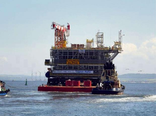 The Advertiser Series: The Cygnus Alpha wellhead topside leaves Heerema, in Hartlepool
