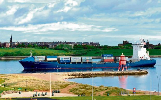 The Advertiser Series: The Calisto arrives at the Port of Tyne