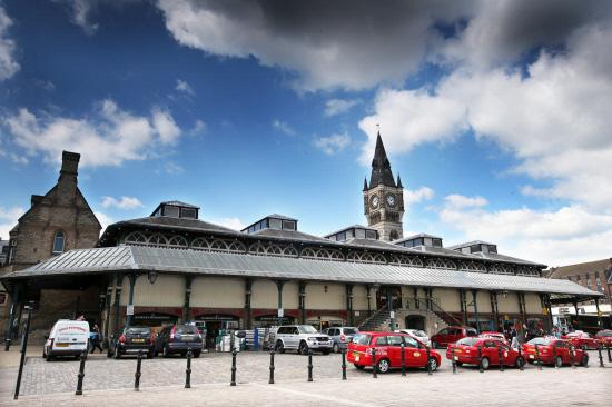 The Advertiser Series: Covered Market and Clock Tower, Darlington