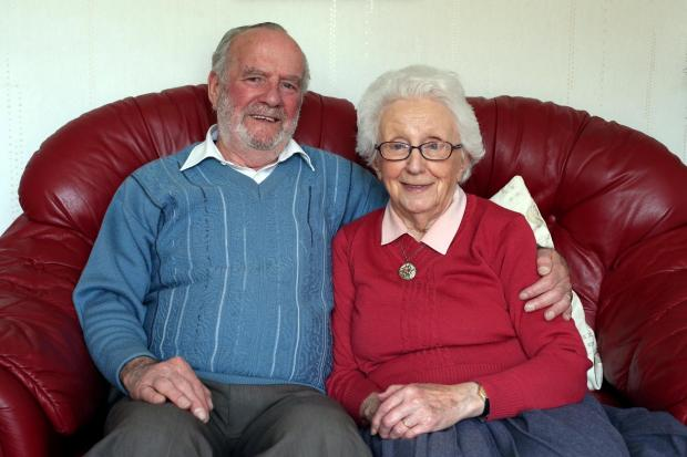 The Advertiser Series: DECADES TOGETHER: Philip and Betty Magurn celebrate their diamond anniversary   Picture by: CHRIS BOOTH