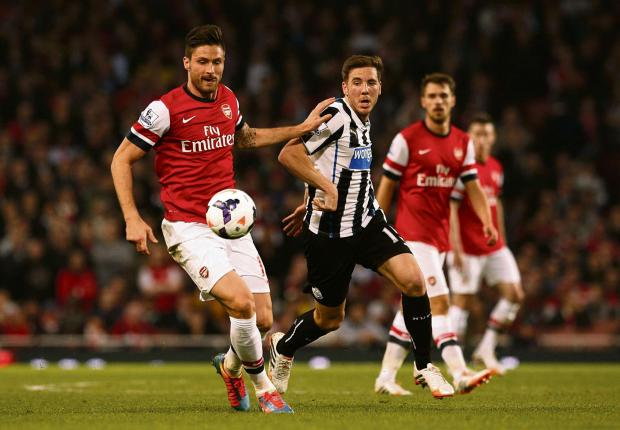 The Advertiser Series: RARE START: Dan Gosling featured in Newcastle's first team towards the end of the season - but struggled to hold down a place for the majority of his Magpies career