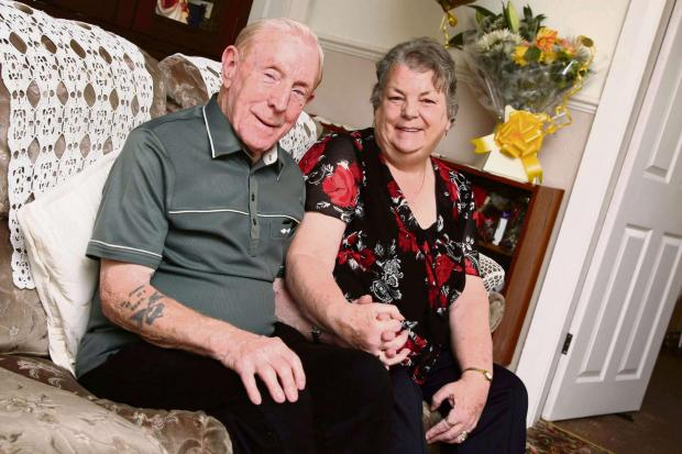 The Advertiser Series: GOLDEN COUPLE: Bill and Margaret Taylor, who are celebrating their golden wedding anniversaryPicture: TOM BANKS