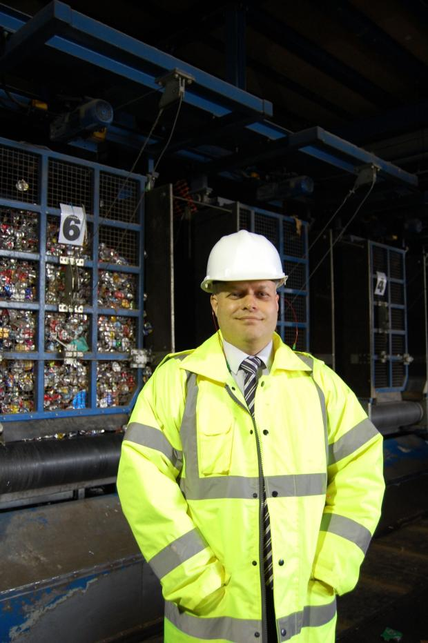 The Advertiser Series: Mark Penny, commercial manager at J & B Recycling.