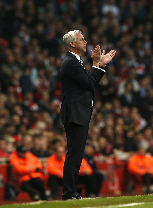 The Advertiser Series: NOT TRUE: Alan Pardew has hit back at Loic Remy's claims that he agreed not to play the striker in the final day defeat to Liverpool