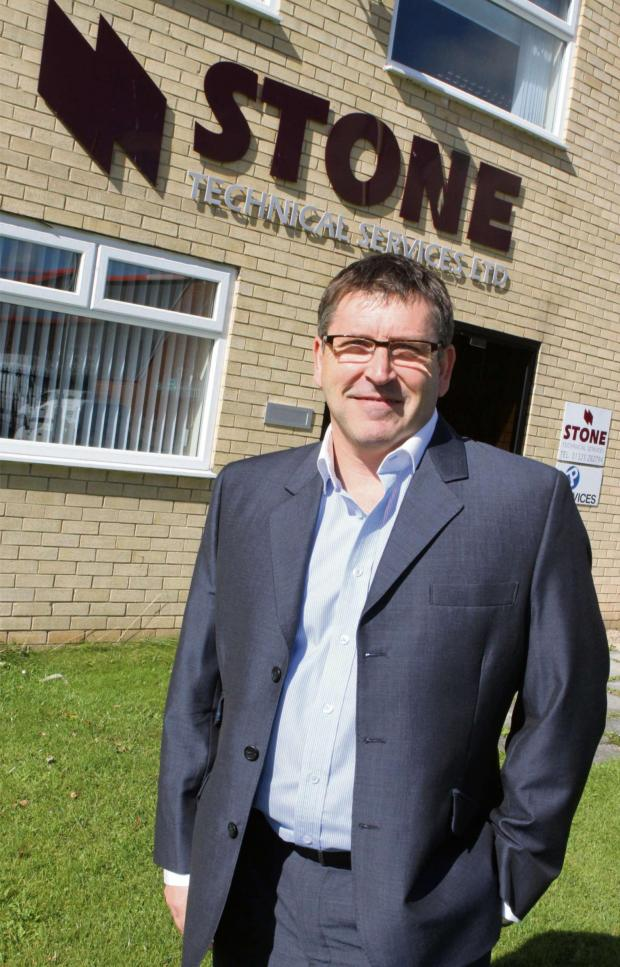 The Advertiser Series: BUILDING SUCCESS: Dave Stone, Stone Technical Services' managing director