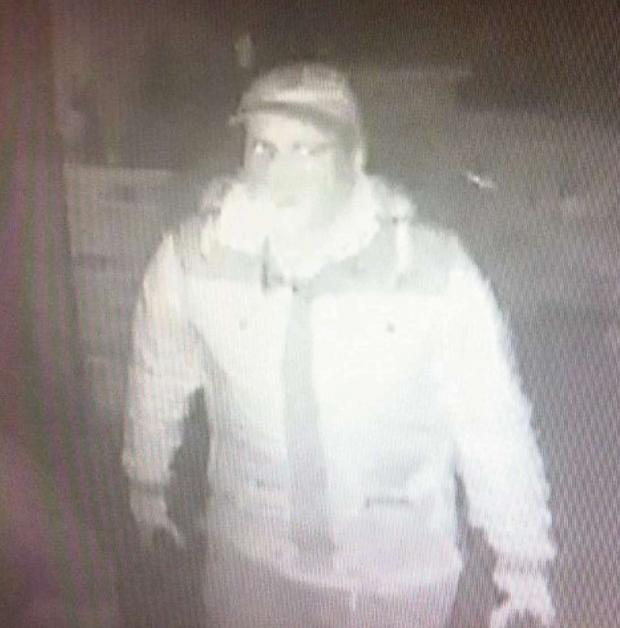 The Advertiser Series: A CCTV image shows one of the men wanted in connection with the burglary at Cross Lanes Organic Farm Shop