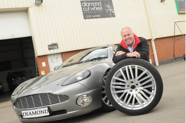 The Advertiser Series: DRIVING FORCE: Stephen Lee, Diamond Cut Alloy Wheels' owner, is delighted the firm is expanding to Middlesbrough