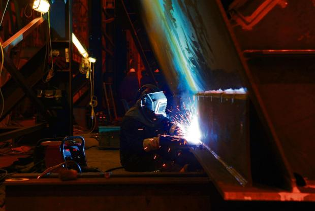 The Advertiser Series: JOB BOOST: UK manufacturers' job creation is at a three-high, a report has said.
