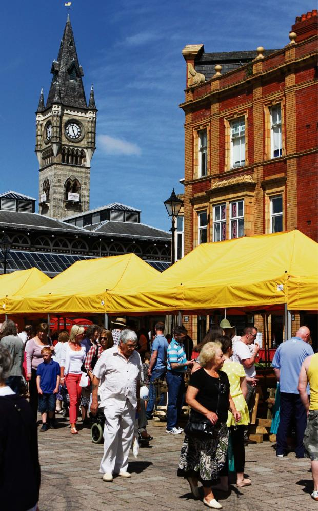 The Advertiser Series: MARKET TOWN: 40 traders will descend on Darlington this weekend as part of the Love Your Local Market event