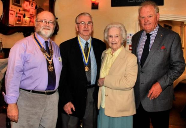 The Advertiser Series: Rotary Club president Martin Leake presents the award to Davi