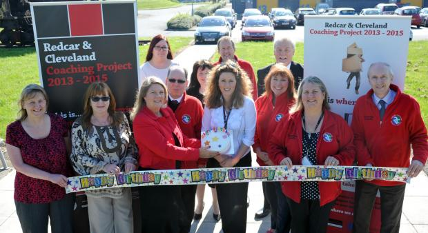 The Advertiser Series: BIG CELEBRATION: The Redcar and Cleveland Enterprise Team mark its first birthday