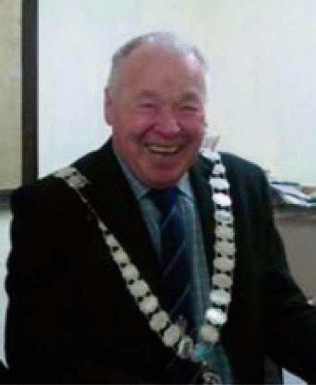 The Advertiser Series: Barnard Castle's departing town mayor, Frank Harrison, who has thanked his supporters