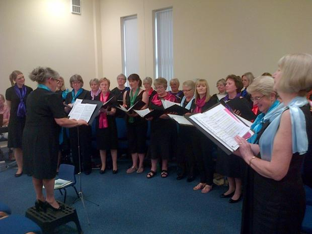 The Advertiser Series: Brompton-on-Swale Ladies Choir perform to raise money for the Salvation Army's sleeping bag appeal
