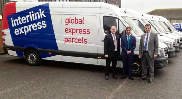 The Advertiser Series: Left to right: Glen Watson, Interlink Express, Michael Hendry, Barclays and Steve Watson.