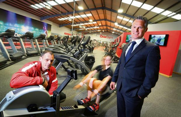 The Advertiser Series: GYM INVESTMENT: left to right Paul Pearson (MD OneGym) and Jonathan Luke (senior portfolio executive at NEL Fund Managers).
