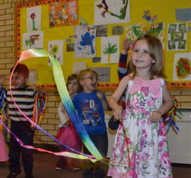 The Advertiser Series: Children at Elm Ridge Pre-school got into the groove for charity