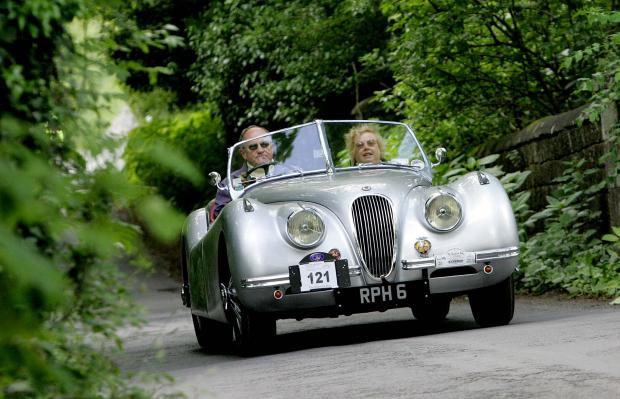 The Advertiser Series: FLASH BACK: A 1952 Jaguar XK during a vintage vehicle rally in County Durham in 2010. File picture: DAVID WOOD