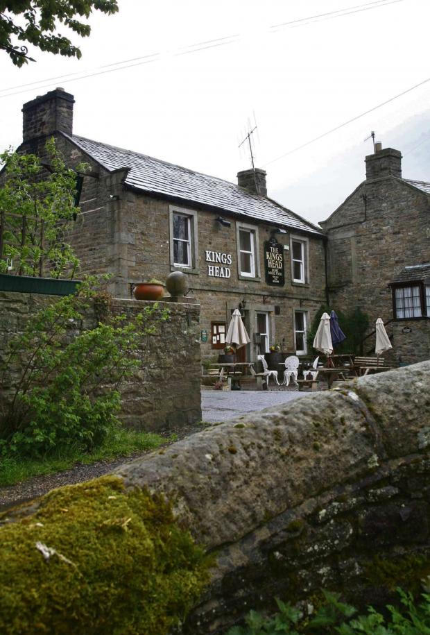 The Advertiser Series: PUB REPAIRS: King's Head in Gunnerside pictured in 2009 before its closure.