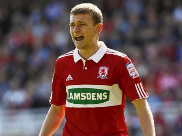The Advertiser Series: ENGLAND HOPES: Middlesbrough defender Ben Gibson wants to cement a place in the England Under-21 team