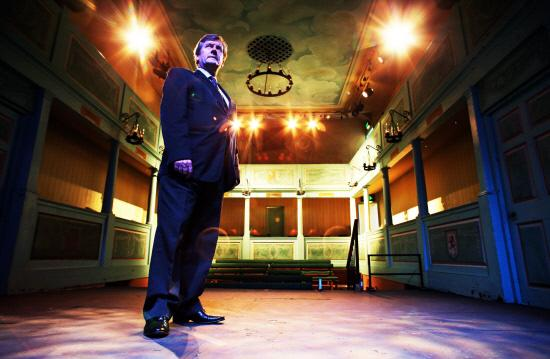 The Advertiser Series: GEORGIAN THEATRE: Chief executive Warnock Kerr on the stage at Richmond&a