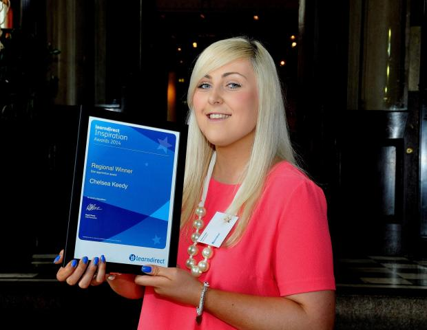 The Advertiser Series: Chelsea Keedy was named star apprentice at the learndirect Inspiration Awards