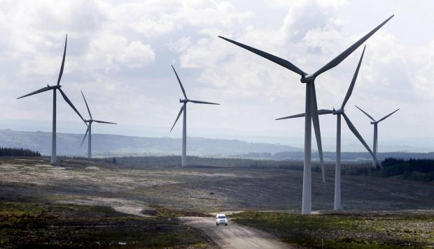 The Advertiser Series: WINDS OF CHANGE: An onshore wind farm. North-East companies can find out more about Infinis' plans for a County Durham farm at a meet the develop