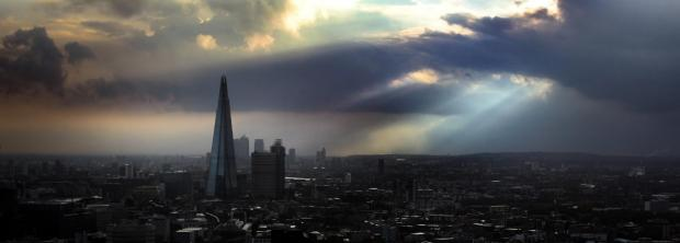 The Advertiser Series: Sunrise behind The Shard