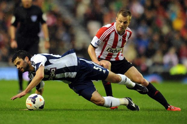 The Advertiser Series: NEW DEAL: Seb Larsson (right) has signed a new three-year contract with Sunderland