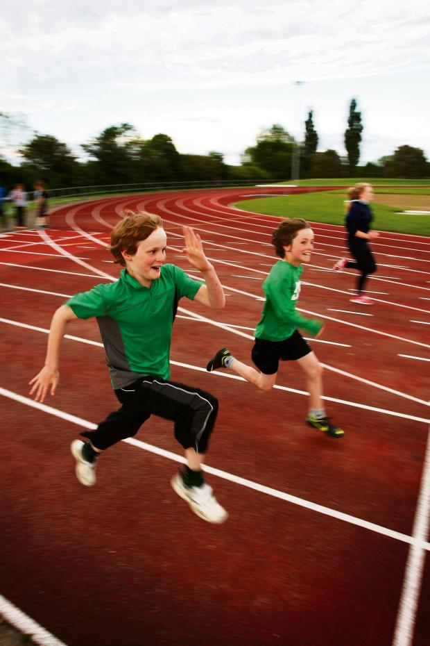 The Advertiser Series: RUNNING TO VICTORY:  Darlington Harriers' young athletes training at the Eastbourne Sports Complex, they have gone from strength to strength recently with many being highly ranked in their event on a regional and national level. Picture: TOM BANKS