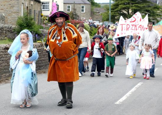 The Advertiser Series: Last year's carnival procession through Cotherstone