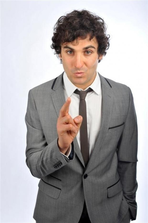The Advertiser Series: FUNNY MAN: Patrick Monahan, from Middlesbrough