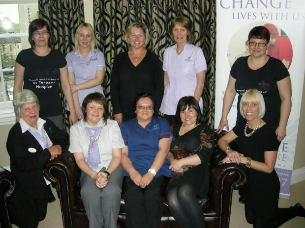 The Advertiser Series: A team of ladies from Heritage Healthcare services provider are among those taking part in the Midnight Walk
