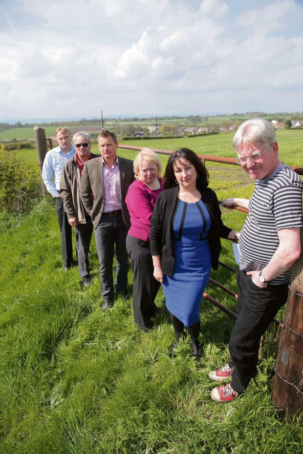 The Advertiser Series: Councillors and members of the Stop The Opencast Between Pittington and West Rainton campaign
