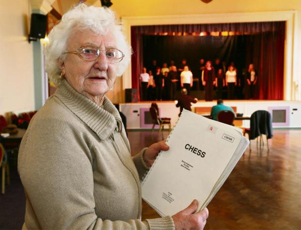 The Advertiser Series: CHANGING TIMES: Jean Burgess president of Spennymoor Stage and Song which is facing financial difficulties a year after celebrating its centenary