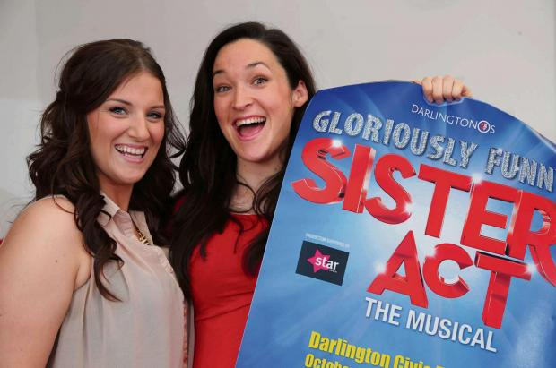 The Advertiser Series: DOUBLE TAKE: Rhiannon Walker, left and Claire Wilmer who have both landed the lead in Sister Act at Darl