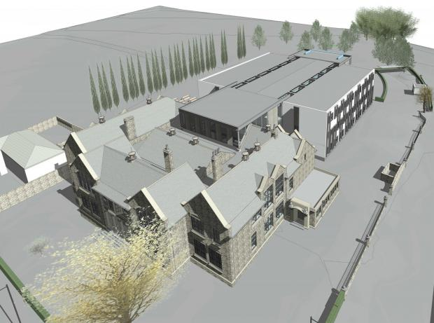 The Advertiser Series: An artist's impression of the new look school submitted to Durham County Council