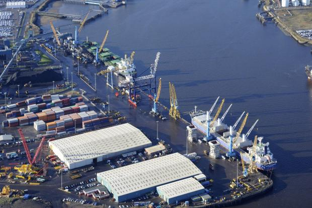 The Advertiser Series: BIG LIFT: The Port of Tyne has revealed strong results