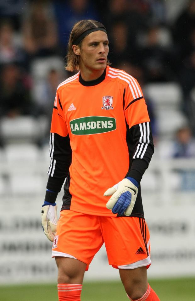 The Advertiser Series: MOVING ON: Former Boro keeper Jayson Leutwiler