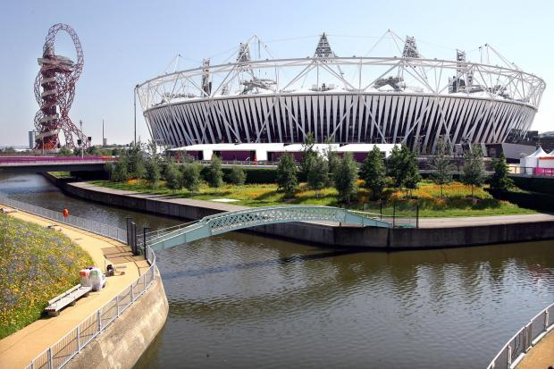 The Advertiser Series: PAST WORK: The Olympic Park, in London, pictured ahead of the 2012 sporting spectacle