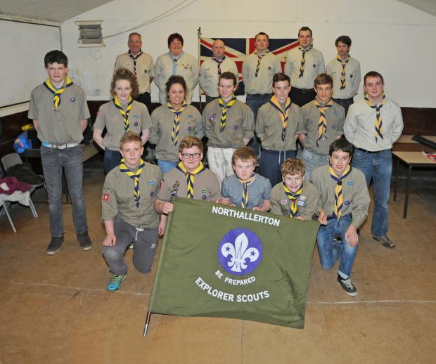 The Advertiser Series: OZ-BOUND: The Northallerton scouts and leaders who will be heading to Australia next January.