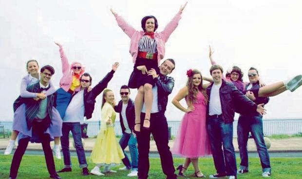 The Advertiser Series: GREASED LIGHTNING: The cast of Grease The Musical