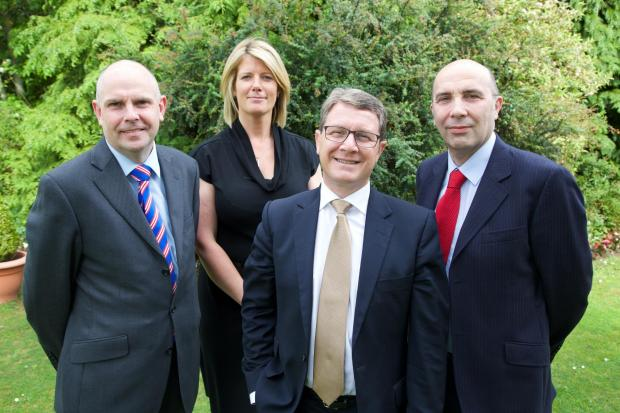 The Advertiser Series: Left to right: Paul Barron, Nicki Clark, Graham Robb and David Cliff