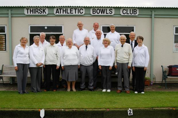 The Advertiser Series: FUNDRAISERS: Members of Thirsk Athletic Bowling Club, who are planning an all-night