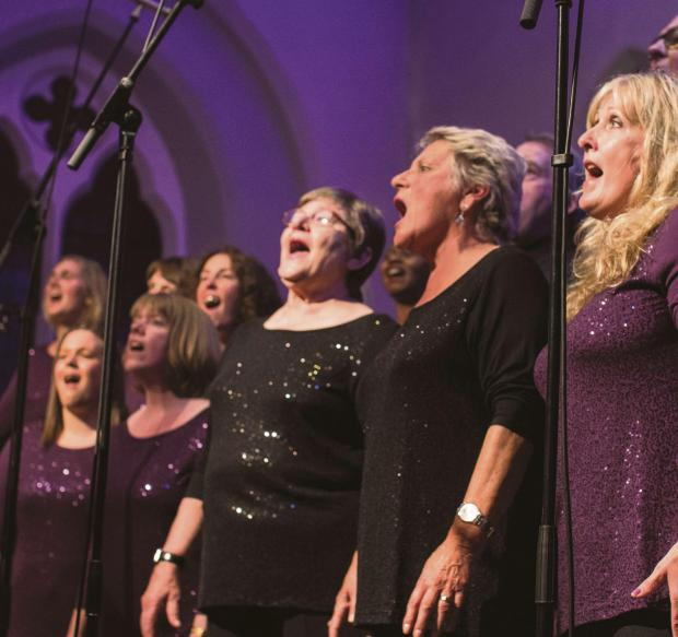 The Advertiser Series: IN HARMONY: Members of the Lakes Gospel Choir in concert