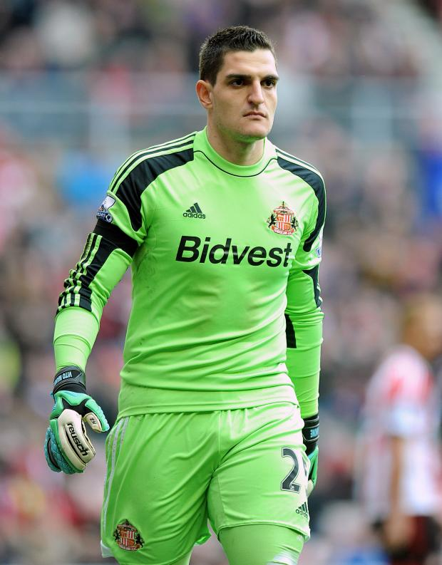 The Advertiser Series: NUMBER ONE: Vito Mannone claims to have been assured that he will remain Sunderland's number one goalkeeper despite the arrival of Coste